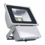 Foco LED proyector 80W exterior blanco