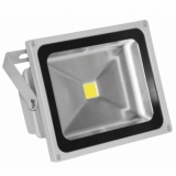 Foco LED proyector 30W exterior blanco